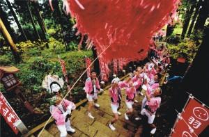 「歓気の団結」 川崎宣雄様 上河内羽黒山神社