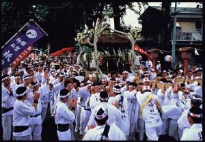 「大神輿の渡御」 海老沼清一郎様 小山市須賀神社