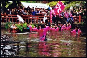 「祭りのクライマックス」 五月女久雄様 小山市間々田八幡宮